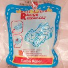 2006 McDonald's Sanrio Happy Meal Toy - White Turbo Racer Car