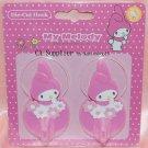 2005 Sanrio My Melody Die-Cut Plastic Hook x 2 nos. 7 cm L