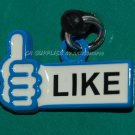 "Hong Kong 7-11 Facebook ""LIKE"" Smart Phone Dust Plug Cap Cover"