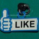 "Hong Kong 7-11 Facebook ""LIKE"" Smart Phone Dust Plug Cap Cover"
