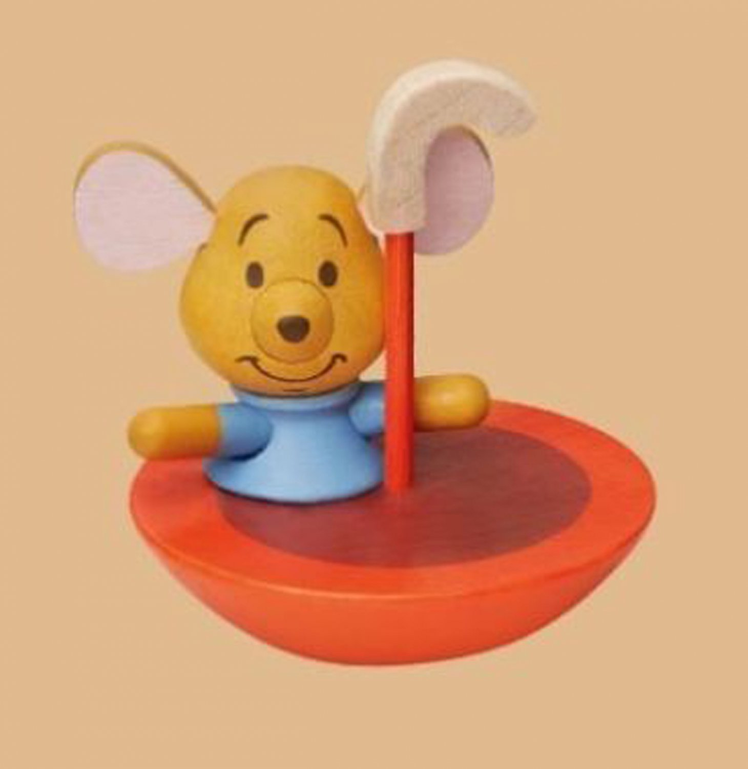 2017 Hong Kong 7-11 Disney Winnie the Pooh w/ Friends ROO Forest Collection Wooden Figurine