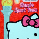 2008 Sanrio Sport Team Hello Kitty  Kuromi Cinamoroll My Melody Minna No Tabe Set of 6