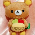 "7-11 San X Rilakkuma Relax Bear Forest Collection ""FRUIT"" 4""H"