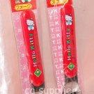 1991 Sanrio Hello Kitty Kids Red Spoon Fork Set