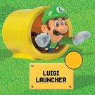 2017 McDonald's Nintendo Happy Meal Toy Super Mario - Luigi Launcher