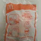 McDonald's Happy Meal Snoopy and Charlie Brown The Peanuts Movie Only in Cinemas - Charlie Brown