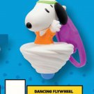 McDonald's Peanuts Happy Meal Toy Snoopy's World - Dancing Flywheel Snoopy Key Ring