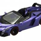F Toys 1/64 Lamborghini TRE Roadster Della Passione - Veneno Roadster PURPLE #1B