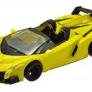 F Toys 1/64 Lamborghini TRE Roadster Della Passione - Veneno Roadster YELLOW #1E