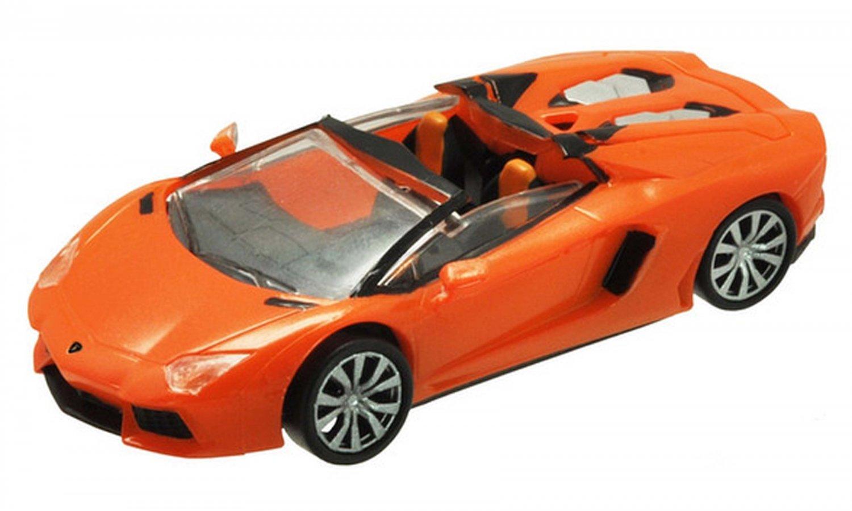 F Toys 1/64 Lamborghini TRE Roadster Della Passione - Aventador Roadster ORANGE #2C