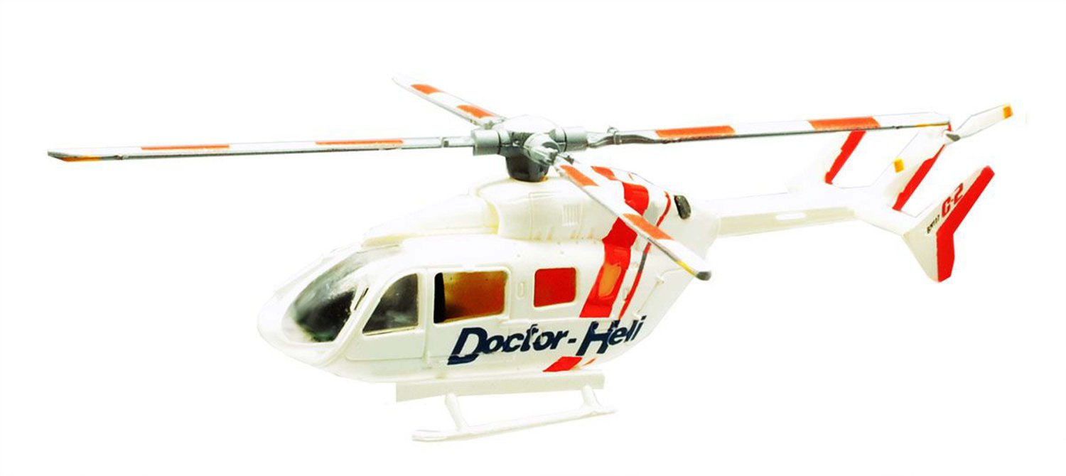 F Toys 1/144 Heliborne Collection Extra Emergency Dispatch Helicopter #3 BK117C-2 Doctor Helicopter