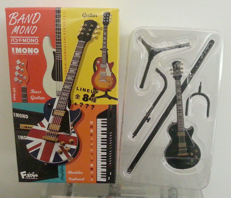 F Toys 1/12 Band Mono Instrument Model - Black Guitar (Secret Item)