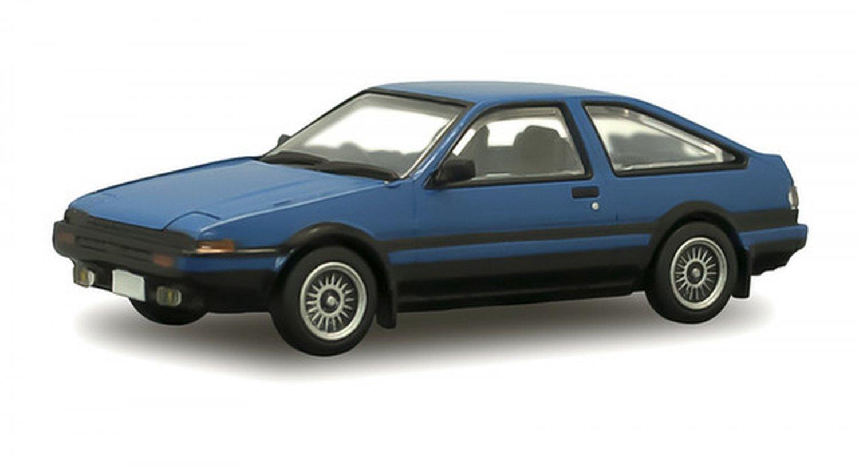 F Toys 1/64 Japanese Classic Car Selection Vol. 5 Toyota Sprinter Trueno AE86 #1D Blue