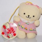 "Hana Chan Original Design by Atelier Toyoko Plush Strap in Pink Dress 3.75"" H"