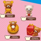 McDonald's San X Rilakkuma Hamburger KoRilakkuma Drinks Kiiroitori on Happy Meal Box