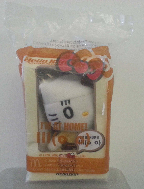 McDonald's Sanrio Hello Kitty Messenger Plush Doll - I'm at Home