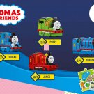 2018 McDonald's Thomas The Tank Full Set of 4 - Thomas Percy James Gordon w/ sticker