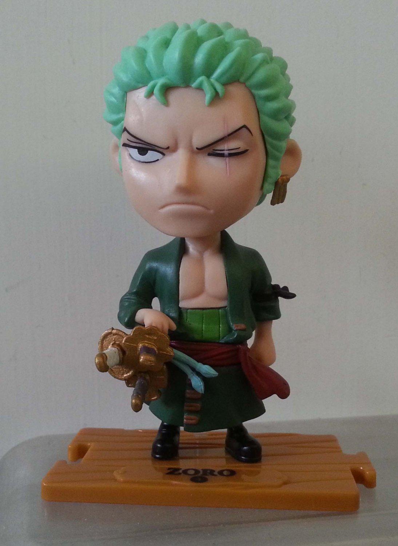 "7-11 One Piece The New World Figure - ZORO 3.5"" H"