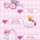 McDonald Sanrio Hello Kitty Purse Memo Pad Sticker Ribbon Headband Glasses Perfume Sticker Dispens