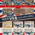 F Toys 1/144 Wing Kit Collection WKC VS 8 FULL Set of 8 Mosquito Messerschmitt Bf110G9