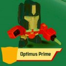 2018 McDonald's Hasbro Happy Meal Toy Transformers - Optimus Prime