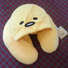 "2017 Sanrio Gudetama Neck Cushion Pillow w/ Hat 12"" x 13.5"""