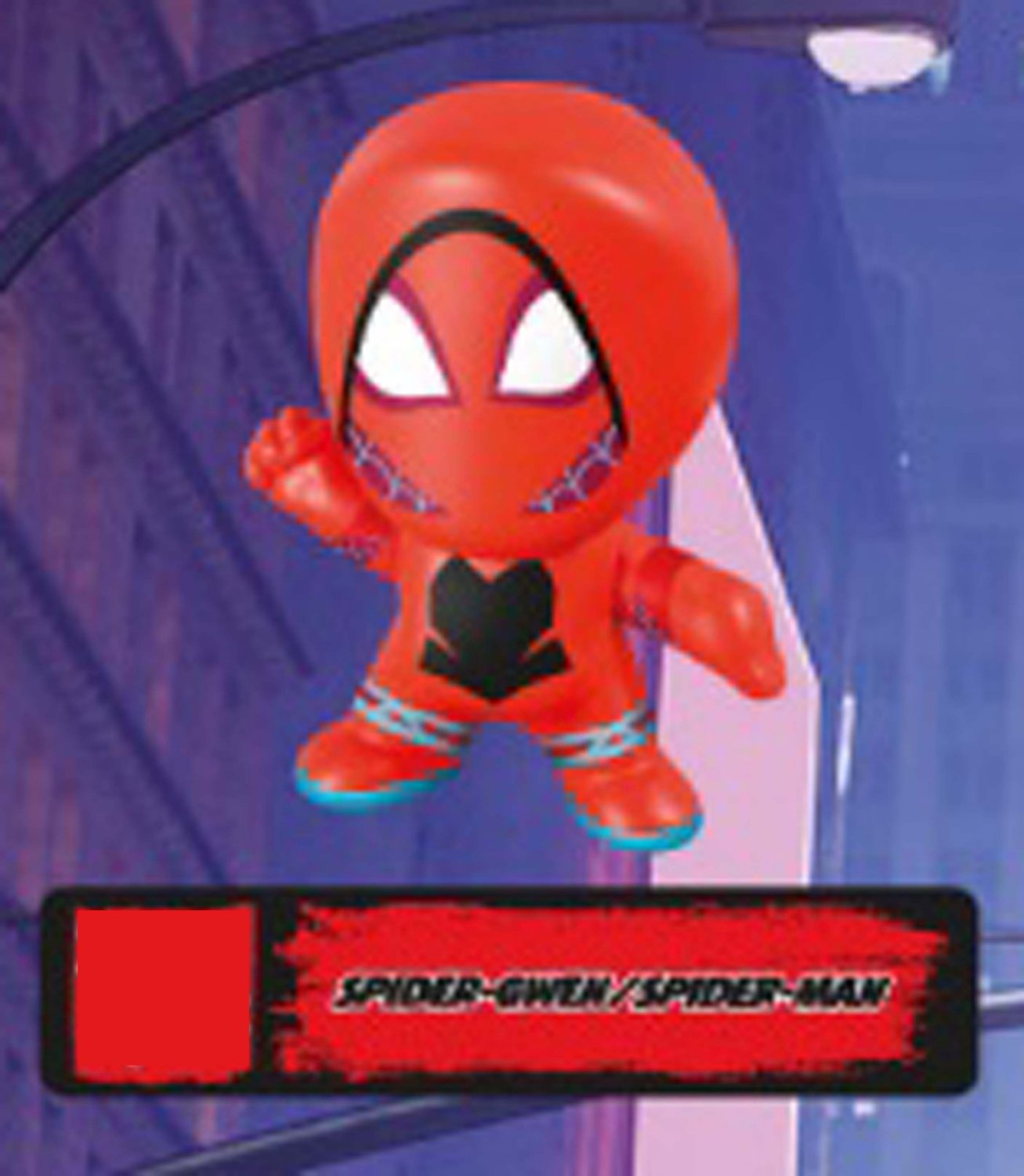 2018 McDonald's Marvel Spiderman into the Spider Verse Only in Theaters Spider Gwen / Spiderman
