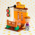 Banbao 7-11 Chibi Maruko-chan Neighbourhood Scene Mini Building Block - #3 Kazuhiko Hanawa Pawn Shop
