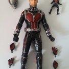 "USED Marvel Disney Avengers Legend ANT-MAN Figure MISSING PARTS 7"" H / 17.5 cm H"