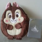 "Disney Chip & Dale Coin Bag Pouch w/ Key Chain 5.5"" H / 14 cm H"