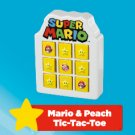 2019 McDonald's Nintendo Happy Meal Toy Super Mario - Mario & Peach Tic-Tac-Toe