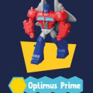 2019 Hasbro McDonald's Happy Meal Toys Transformers Cyberverse - OPTIMUS PRIME Figure