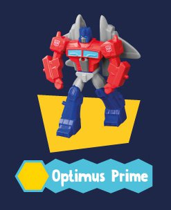 2019 Hasbro McDonald's Happy Meal Toys Transformers Cyberverse - OPTIMUS PRIME Figure