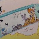 Hong Kong 7-11 Disney Plastic Hand Bag w/ 3D Figure - Bambi 20 cm L x 7 cm dia