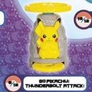 2019 McDonald's Happy Meal Toy Pokemon Asia - Go Pikachu Thunderbolt Attack