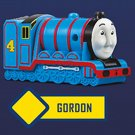 2018 McDonald's Thomas & Friends Tank Engine Train Happy Meal Toy - Gordon w/ stickers