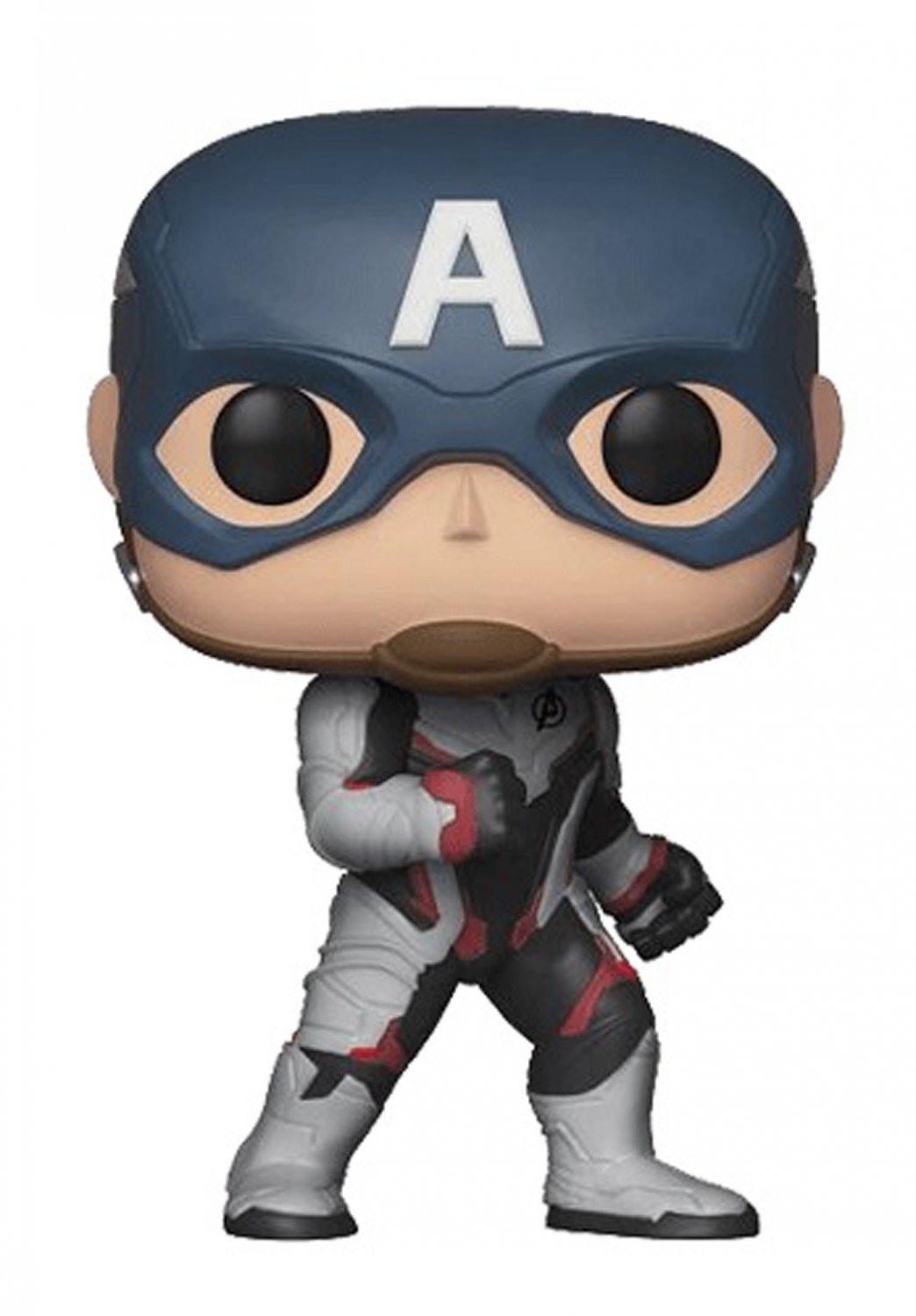 "Funko Pop Marvel Avengers #450 - Captain America Vinyl Figure (damaged box) 4"" H / 10 cm H"