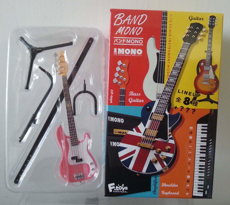 F Toys 1/12 Band Mono Instrument Model - Light Red Guitar (Secret Item)