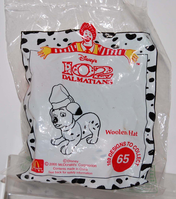 McDonald's Disney Happy Meal Toy 102 Dalmatians Dog #65 Woolen Hat