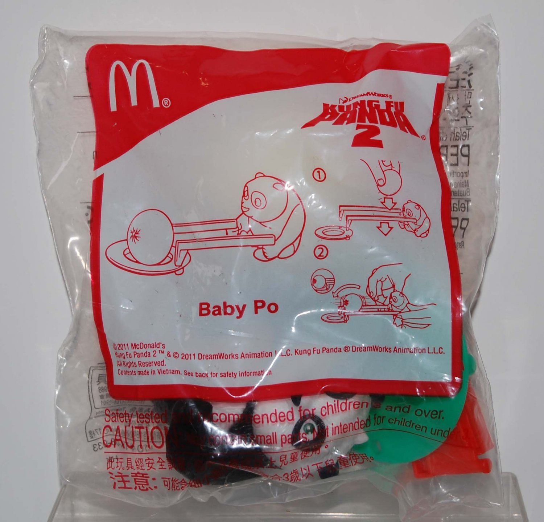 McDonald's Happy Meal Toy Kung Fu Panda 2 Figure - Baby Po