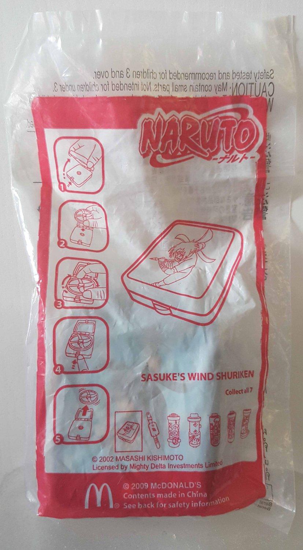 2009 McDonald's Happy Meal Toy Naruto - Sasuke's Wind Shuriken