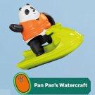 2020 McDonald's Happy Meal Toy We Bare Bears - Pan Pan's Watercraft