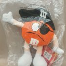 "M&M's ORANGE Chocolate Halloween Plush Doll 10"" H SOUND OUT OF FUNCTION"