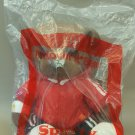 """McDonald's Bear Plush Doll in Red Clothes - Sporty 8"""" H / 20 cm H"""