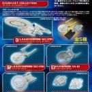 F Toys Star Trek StarFleet Collection Full Set of 5