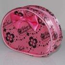 """Bandai Gokujyo Mechamote Iincho Pink Mini Pouch Bag w/ Zip 4.5""""x3.5""""x1.5""""thk"""