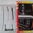 "F Toys Katana Masterworks Japanese Samurai Sword Knife Model #5 Izuminokamikanesada 3""~4.5"" L"