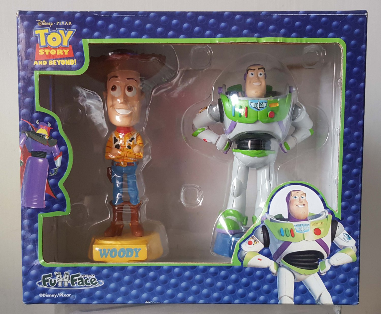 "Disney Pixar Toy Story Woody & Buzz Light Year Figure 3.75""H"