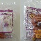 2018 McDonald's San Happy Meal Toy X Rilakkuma Bear - Rilakkuma & Hamburger