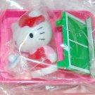"2008 Sanrio Sport Team : Hello Kitty Playing Table Tennis 1.5"" H x 2 nos"